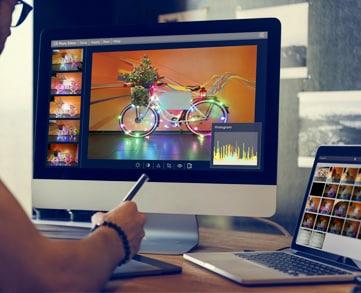 Bildbearbeitung Werbeagentur K10